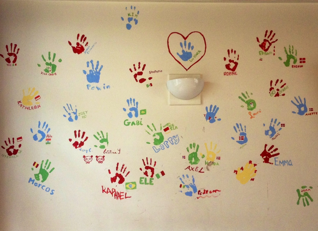 Awesome Handprint Wall Art Pictures Inspiration - Wall Art Ideas ...